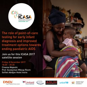 Poster for the satellite session held at ICASA 2017 on Friday 8 December