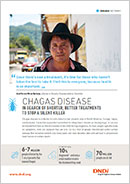 Cover page Chagas disease factsheet