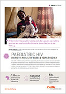 Cover page paediatric HIV factsheet