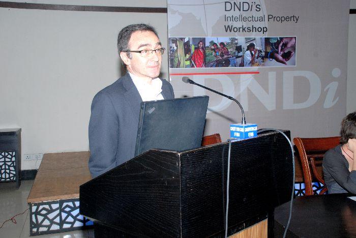 Dr. Jean-Pierre Paccaud, Business Development Director, DNDi